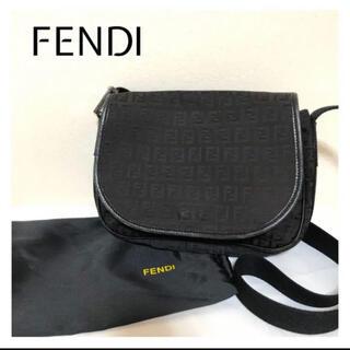フェンディ(FENDI)の★おしゃれ★ FENDI フェンディ ショルダーバッグ ズッカ 柄 黒(ショルダーバッグ)