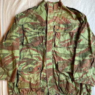アートヴィンテージ(ART VINTAGE)の激レア 美品 50s Lizard camo TAP47 Jacket 実寸XL(ミリタリージャケット)