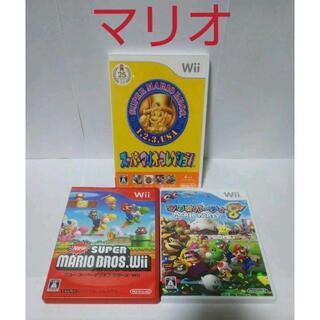 Wii - ≪マリオWii≫マリオシリーズ3作品セット