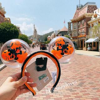 Disney - 香港ディズニー✨新作‼️ハロウィンミッキーバルーンライトアップカチューシャ
