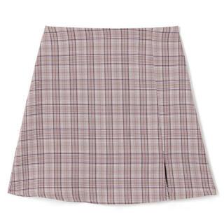 グレイル(GRL)のGRL チェックスカート ピンク(ミニスカート)