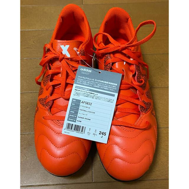 adidas(アディダス)のアディダス サッカー スパイク X 15.3 HG LE 24.5 スポーツ/アウトドアのサッカー/フットサル(シューズ)の商品写真