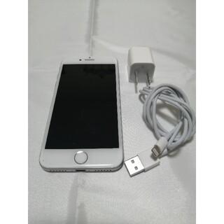 iPhone - 極上品◆アイフォン7◆32GB大容量◆シルバー◆ガラスフィルムあり◆初期化済み