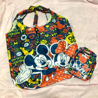 Disney - 【新品未使用】ディズニー 折りたたみエコバッグ