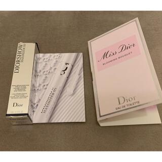 ディオール(Dior)のディオール マキシマイザー3D ミスディオール サンプル(マスカラ下地/トップコート)