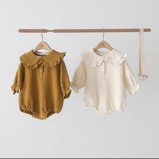 petit main - 女の子 韓国子供服 トップス ブラウス