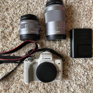 Canon - Canon EOS kiss M ホワイト