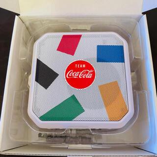 コカコーラ(コカ・コーラ)のコカコーラ 防水スピーカー Bluetooth 非売品 新品未使用(ノベルティグッズ)