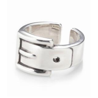 フィリップオーディベール(Philippe Audibert)の新品 PHILIPPE AUDIBERT ベルトモチーフリング(リング(指輪))