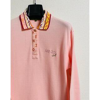 PEARLY GATES - 希少 KENZO Golf ケンゾーゴルフ 長袖ポロシャツ size1 ピンク