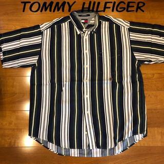 TOMMY HILFIGER - トミーヒルフィガー 美品半袖シャツ