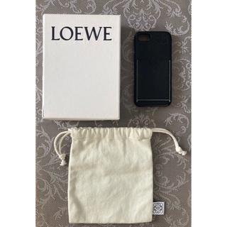 ロエベ(LOEWE)のloewe iPhone se 7 8 ケース 化粧箱 ロエベ 黒(iPhoneケース)