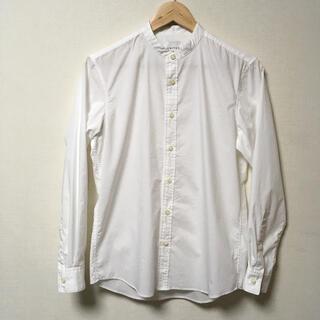 STUDIOUS - 極美品 UNITED TOKYO QUICK DRY バンドカラーシャツ 白