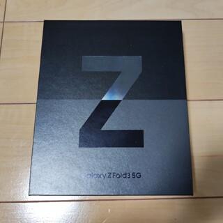 Galaxy - サムスン Galaxy Z Fold3 5G ブラック 512GB 韓国版 美品