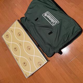 コールマン(Coleman)のColeman 組み立て テーブルセット 美品 大サイズ 袋あり(テーブル/チェア)