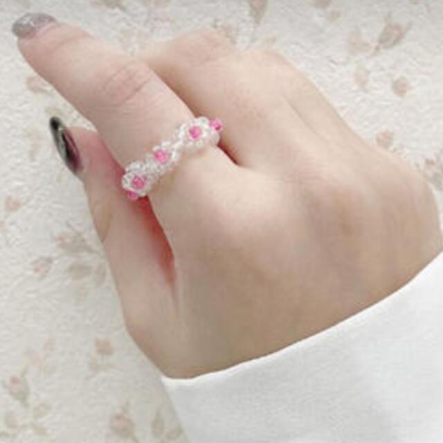 apres jour ビーズリング レディースのアクセサリー(リング(指輪))の商品写真