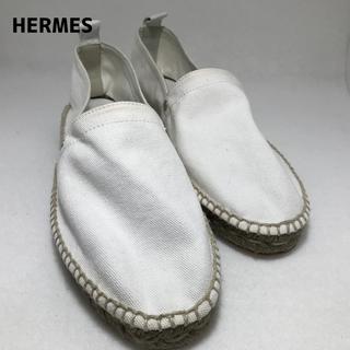 エルメス(Hermes)のHERMES レザー切替 エスパドリーユ メンズ エルメス(サンダル)
