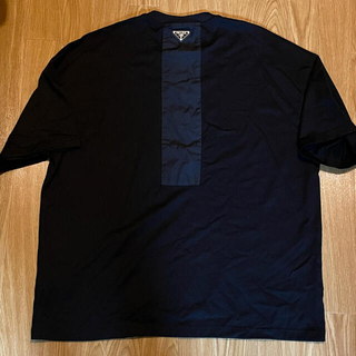 PRADA - PRADA プラダ ロゴ Tシャツ ナイロンレイン