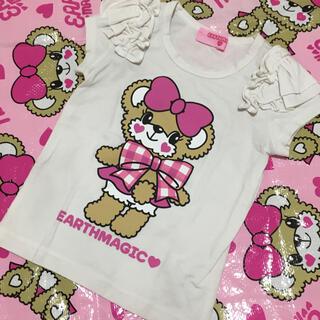 アースマジック(EARTHMAGIC)の32♡Tシャツ 110cm(Tシャツ/カットソー)
