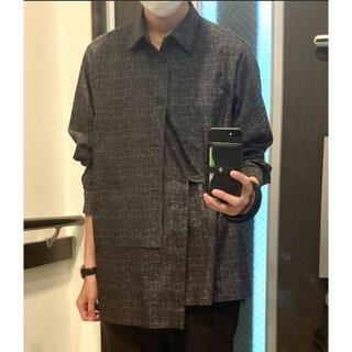 STUDIOUS - ETHOSENS/エトセンス×Lui's/ルイス】レイヤードシャツ サイズ1