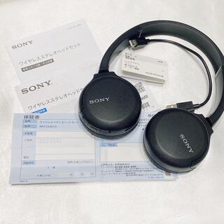 SONY - SONY/ワイヤレスステレオヘッドセット WH-CH510(ブラック)