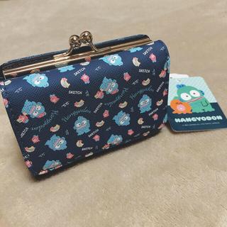サンリオ - 新品タグ付き⭐︎ハンギョドン 三つ折り財布 サンリオ 折り畳み財布 がま口財布