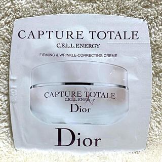 ディオール(Dior)のディオール カプチュールトータルセルENGYクリーム サンプル(フェイスクリーム)