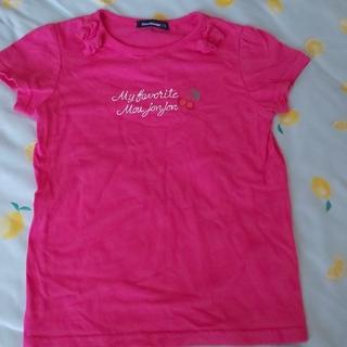 ムージョンジョン(mou jon jon)のムージョンジョン 110 シャツ ピンク 女の子(Tシャツ/カットソー)