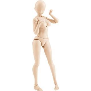 モデル人形 画材練習用 (肌色)女性(模型/プラモデル)
