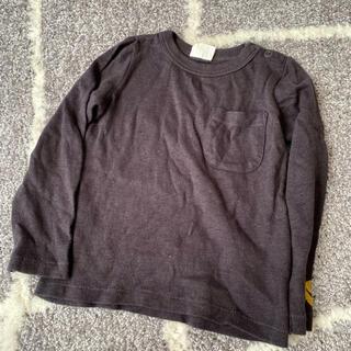 ブリーズ スマイルロングTシャツ 95 チャコール
