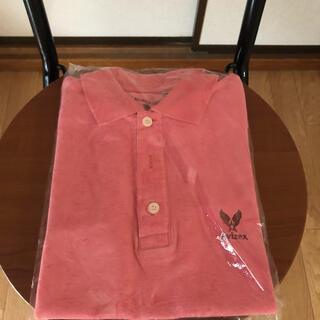 アヴィレックス(AVIREX)のAVIREX ピンクポロシャツ(ポロシャツ)