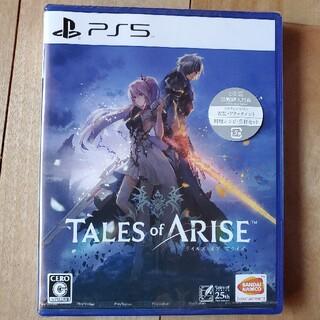 PlayStation - テイルズオブアライズ ps5 早期購入特典付き