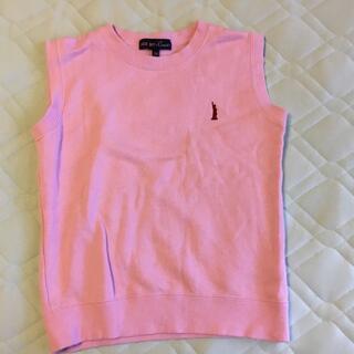 イーストボーイ(EASTBOY)のイーストボーイ ベスト ピンク 130(Tシャツ/カットソー)