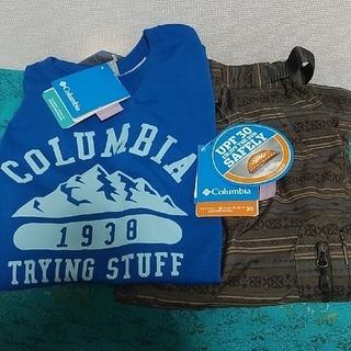 コロンビア(Columbia)のみいこさま専用☆Colombia☆2点セット☆Tシャツパンツ☆S(Tシャツ/カットソー(半袖/袖なし))