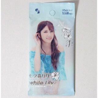 七ツ森りり オフィシャルカードコレクション white Lily 未開封パック(Box/デッキ/パック)