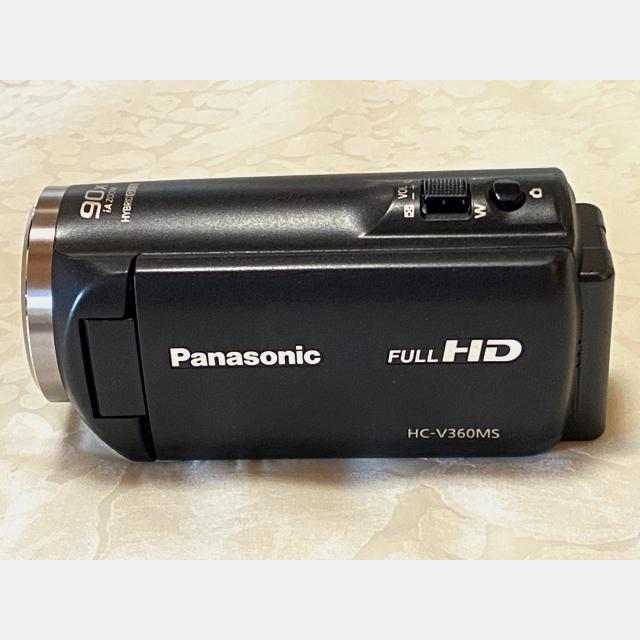 Panasonic(パナソニック)のPanasonic ビデオカメラHC-V360MS-K スマホ/家電/カメラのカメラ(ビデオカメラ)の商品写真