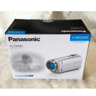 Panasonic - Panasonic ビデオカメラHC-V360MS-K