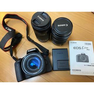 Canon - 【レンズ3つ付】Canon EOS KISS X9i