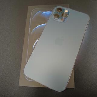 iPhone - SIMフリー iPhone12 Pro 本体 128GB パシフィックブルー