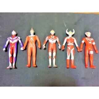 ウルトラマン ソフビ人形 5体
