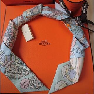 Hermes - エルメス2021 新作ツイリー 杖傘と決闘