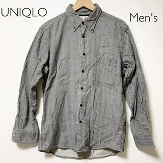UNIQLO - UNIQLOシャツ 千鳥