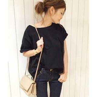 DEUXIEME CLASSE - Deuxieme Classe¥18000 ワイドTシャツ ブラック