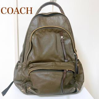 コーチ(COACH)の人気 COACH コーチ トンプソン バックパック レザー リュック 70781(バッグパック/リュック)