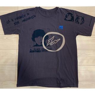 フラグメント(FRAGMENT)のcactus jack  fragment tee Tシャツ travis XL(Tシャツ/カットソー(半袖/袖なし))