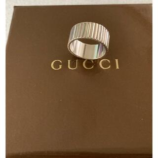 Gucci - GUCCI  グッチ シルバーリング  12~13号 お値下げ