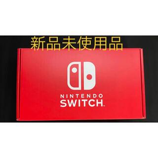 ニンテンドースイッチ(Nintendo Switch)の【新品】NINTENDO SWITCH ストア版 レッド × ブルー(家庭用ゲーム機本体)
