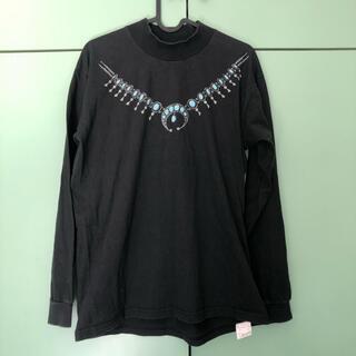 ビームス(BEAMS)のビームス ブラック Tシャツ トップス サブカル(Tシャツ(長袖/七分))