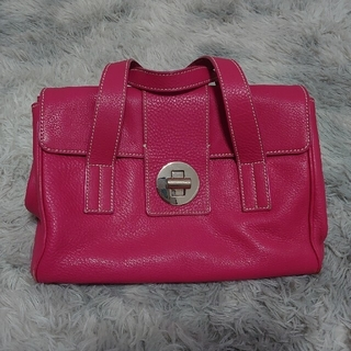 ティファニー(Tiffany & Co.)のティファニー ハンドバッグ ピンク レザー(ハンドバッグ)