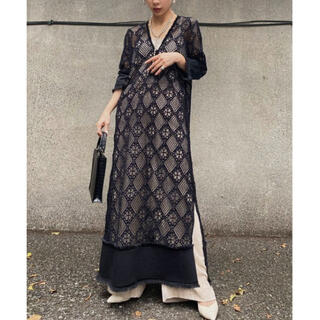 Ameri VINTAGE - 完売新品 Ameri vintage GEOMETRY LACE DRESS